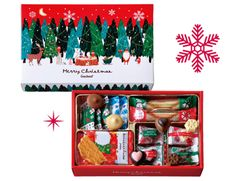 Packaging Design, Packaging Ideas, Christmas Hamper, Xmas, Gift Wrapping, Graphic Design, Frame, Advent, Holiday