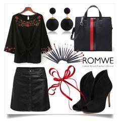 """Romwe no.2"" by almamehmedovic-79 ❤ liked on Polyvore"