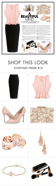 """""""Black Skirt"""" by s-p-j ❤ liked on Polyvore featuring Theory, Paul Smith, Phase Eight, Avon, David Yurman and Iman"""