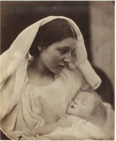 Resting in Hope; La Madonna Riposata | Cameron, Julia Margaret | V&A Search the Collections