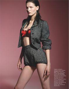 visual optimism; fashion editorials, shows, campaigns & more!: technicolor: katlin aas by liz collins for numéro #146 september 2013