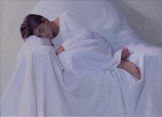 """The sleeping girl"" by Svetlana Tartakovska"