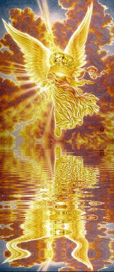ஜarcanjos/anjos/família galáctica - ARCANJO URIEL (Water Reflection)
