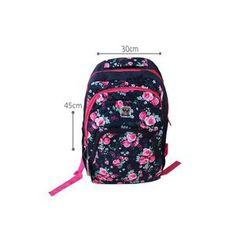 Mochila Up4You Básica Com Charm Bag Roxo | Zattini