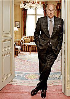 Oscar de la Renta by foto di matti. Óscar de la Renta en el Hotel Ritz de Madrid, durante una visita a España en 2008.