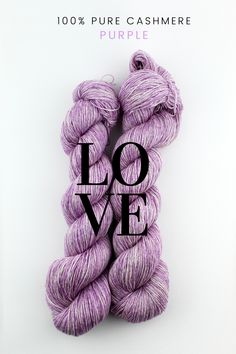 This finest Italian-spun 100% cashmere yarn is beautifully made, beautifully dyed, knits like a dream, and super soft.#cashemre #yarn #wool #knitting #lace #uniqueyarnsco