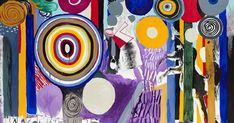 by Abraham Lacalle John Baldessari, Chicago Artists, David, Postmodernism, Chicago Cubs Logo, Contemporary Paintings, Printmaking, Illustrators, Vibrant Colors