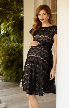 ed076c459b86d TIffany Rose Harriet Lace Maternity Dress. Winter Maternity  OutfitsMaternity Evening ...
