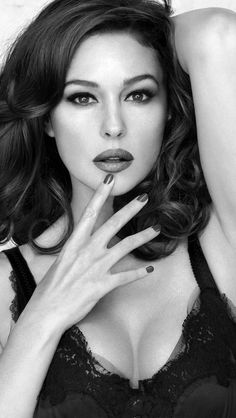 Monica Bellucci - hands down one of the sexiest women alive.