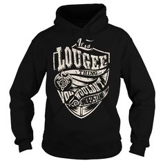 Its a LOUGEE Thing (Dragon) - Last Name, Surname T-Shirt