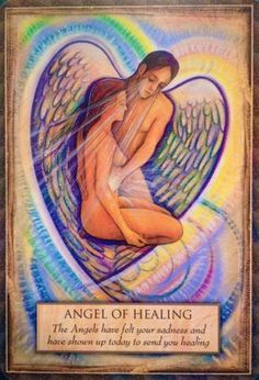 Today's Angel Card Message Message from: Angel of Healing Close your eyes right now, place your hand upon your heart and feel the healing light pour through as you feel the presence of your angel. Feel yourself being breathed and supported by the universal life force of love, and imagine yourself glowing with light. Talk to your angel; ask anything you wish - share anything you wish. Read More: http://www.online-tarot-readings-by-amber.info/angel.html