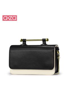 43b1541cc black leather matte back with special metal hand strap, elegant classy  design, flap top