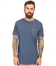 RVCA - PTC 2 Pigment Knit Tee (Dark Denim) Men's T Shirt