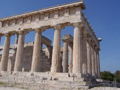 The Temple of Aphaia is located within a sanctuary complex dedicated to the goddess Aphaia on the Greek island of Aigina, which lies in the Saronic Gulf.The periegetic writer Pausanias briefly mentions the site in his writings of the 2nd century AD