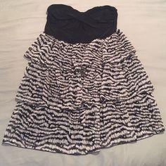 Selling this Zebra Dress in my Poshmark closet! My username is: annacscott1. #shopmycloset #poshmark #fashion #shopping #style #forsale #Deb #Dresses