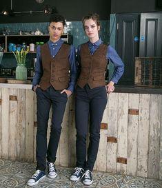 The Uniform Studio create stylish bespoke staff uniforms Cafe Uniform, Waiter Uniform, Hotel Uniform, School Uniform, Waitress Outfit, Waitress Apron, Kellner Uniform, Bartender Uniform, Staff Uniforms