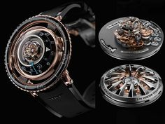 Jelly Fish Sting Inspires Man to Make a Sexy Watch <strong>MBandF HM7</strong> #SexyWatch #FLYING #TOURBILLON, #LUXURYWATCH, #MAXIMILIAN BUSSER, #giftsformen, #MBANDF #HM7 #AQUAPOD, #REDGOLD WATCH, #SIHH 2017 #coolwatches
