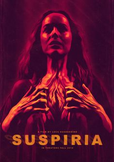 Suspiria (remake) | Sorin Ilie - Follow Artist on PosterSpy // Facebook // Twitter // Instagram    Suzy Banyon decided to perfect her ballet studies in the most famous school of dance in Europe. She chose the celebrated academy of Freiburg. One day at nine in the morning she left Kennedy airport New York and arrived in Germany at 10:40 p.m. local time  More Suspiria Related Artworks   Original Motion Picture Soundtrack On Amazon