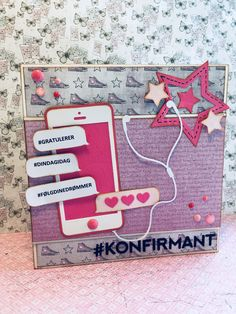 Handmade cards. Konfirmasjonskort jente Card Ideas, Scrapbooking, Cards, Handmade, Inspiration, Hand Made, Biblical Inspiration, Scrapbook, Craft