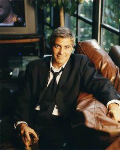 George Clooney + Suit = Fuggedaboutit