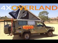 Landcruiser Troopy Camper Extraordinary. Part-1 - YouTube