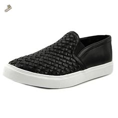 a8094f795b3 Steve Madden Eshton Women US 9 Black Fashion Sneakers
