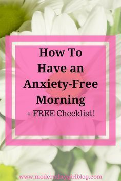 An anxiety-free morning can lead to an anxiety-free day. Read these easy tips to help you and your anxiety have a stress-free morning.