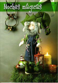muñequeria country-Alejandra - Marcia M - Álbuns da web do Picasa Yarn Crafts, Diy And Crafts, Christmas Ornament Crafts, Christmas Ideas, Halloween 2, Free Printables, Projects To Try, Santa, Album