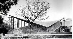 Chapel of the Missionaries of the Holy Ghost,Coyoacán, DF, 1956    Architect: Enrique de la Mora, Builder: Felix Candela