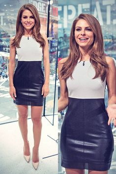 Maria Menounos on Set of Extra from H&M                                                                                                                                                                                 More