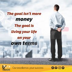 The goal isn't more money. The goal is living your life on your own terms. #trading #money #trader #forextrader #business #pips #forextrading #wallstreet #entrepreneur #fx #motivation #success #profit #stocks #investment #finance #invest #daytrader #wealth #stockmarket #broker #lifestyle #eurusd #daytrading #forexsignals #gold #currency #luxury #millionaire #rich