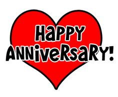 Happy Anniversary Clip Art | Royalty-Free (RF) Anniversary Clipart ...