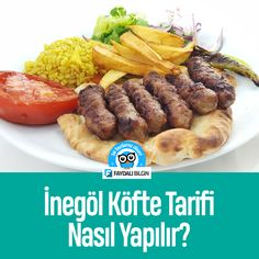 İnegöl Köfte Tarifi - Nasıl Yapılır? - Faydalı Bilgin @faydalibilgin Beef, Chicken, Food, Meat, Essen, Meals, Yemek, Eten, Steak