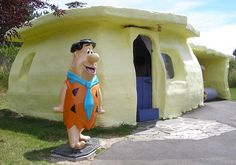 Fred Flintstone's House | Flickr - Photo Sharing!