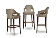 Nº 20 | Modern Bar Chair by BRABBU contract hospitality furniture, custom furniture design, contemporary custom made bar chairs www.brabbu.com