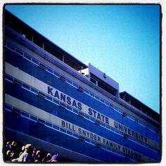 Bill Snyder Family Stadium, Kansas State University, Manhattan, KS - great fun with our OSJA