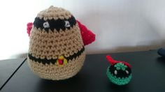 Crochet Supertato and Evil Pea Hobbies And Crafts, Crochet Hats, Beanie, Craft Ideas, School, How To Make, Amigurumi, Knitting Hats, Beanies