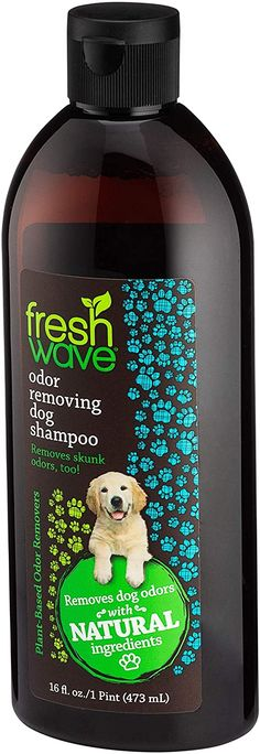 Fresh Wave Natural Dog Shampoo and Odor Eliminator, 16 fl. oz. #doggrooming