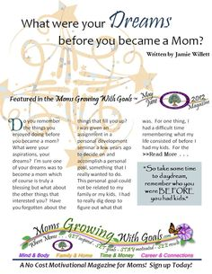Subscribe to FREE Motivational Magazine for Moms which includes Inspiring Quotes for Moms