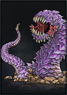 Printable Heroes, Printable Paper, Fantasy Monster, Monster Art, Dnd Monsters, Jumping Jacks, Sci Fi Fantasy, Grimm, Worms