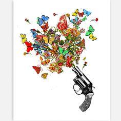 Make love, not war.   - Rococco Prints www.rococco-la.com