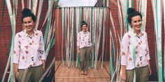 Backdrop met linten te huur bij WonderWeddings! Voor een speels effect en eindeloze kleur-mogelijkheden!  Photocredit: Leentje Loves Light