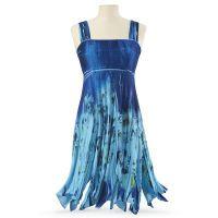Blue Garden Dress @ The Pyramid Collect