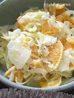 Fenchel-Orangensalat Kombucha, Cabbage, Vegetables, Food, Grilled Peaches, Mustard Dressing, Easy Meals, Food Food, Veggies