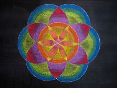 Age 12 ~ Geometric Drawing ~ Six Division of Circle ~ chalkboard drawing Blackboard Drawing, Blackboard Chalk, Chalkboard Drawings, Chalkboard Lettering, Chalkboard Pictures, Form Drawing, Drawing Ideas, Geometric Construction, Geometric Drawing