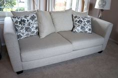 3 Months Old Sofa With Cushions For 400 Please Arrange Your Own Pick Up
