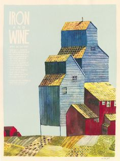 Iron and Wine Poster