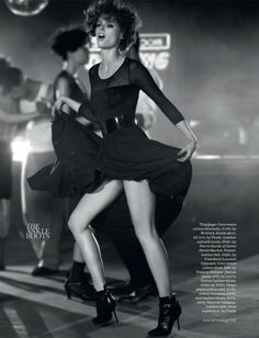 Coco Rocha for Elle UK