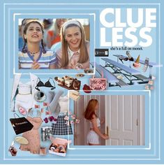 Cher Clueless Outfit, Clueless Fashion, Fashion Outfits, 90s Outfit, Princess Aesthetic, Blue Aesthetic, Aesthetic Grunge, Blue Fashion, Retro Fashion
