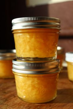 Canning Recipe: pineapple jam hmm sounds interesting gonna try it